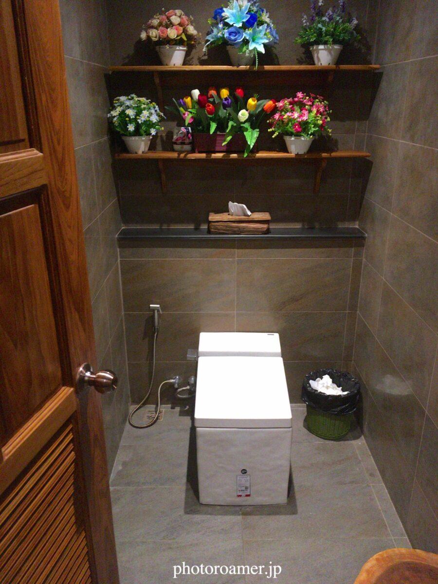 タイ チェンマイ トイレ システム