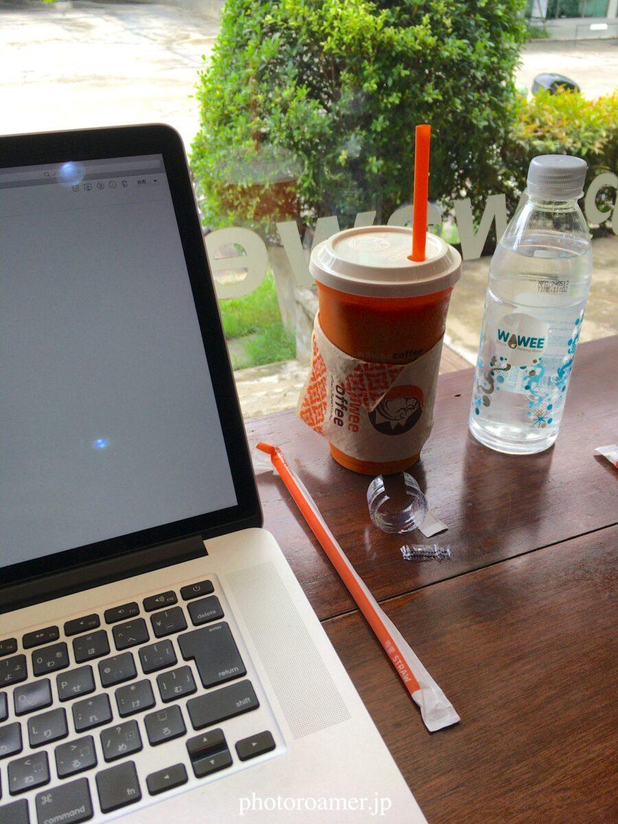 タイ チェンマイ サイト作成 カフェ