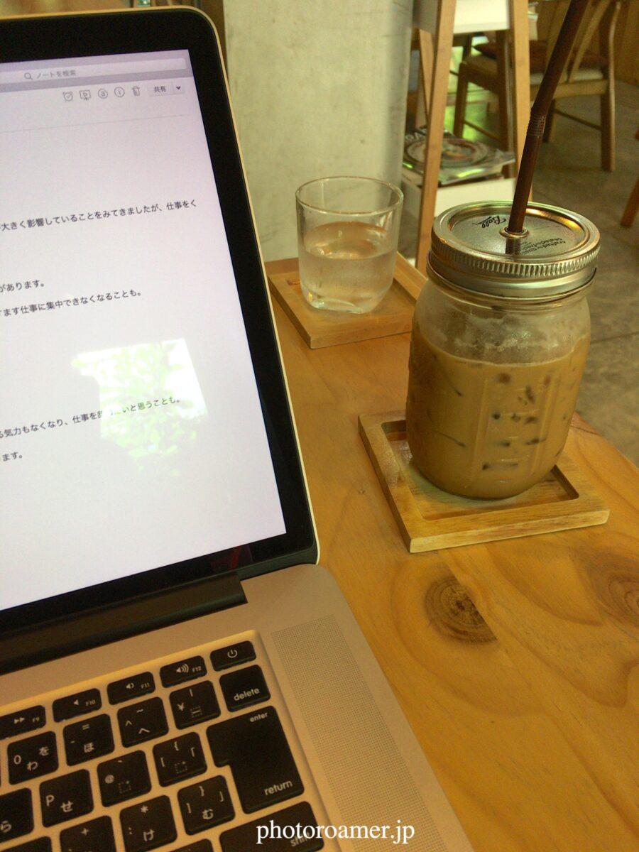 タイ チェンマイ カフェ WEBサイト作成