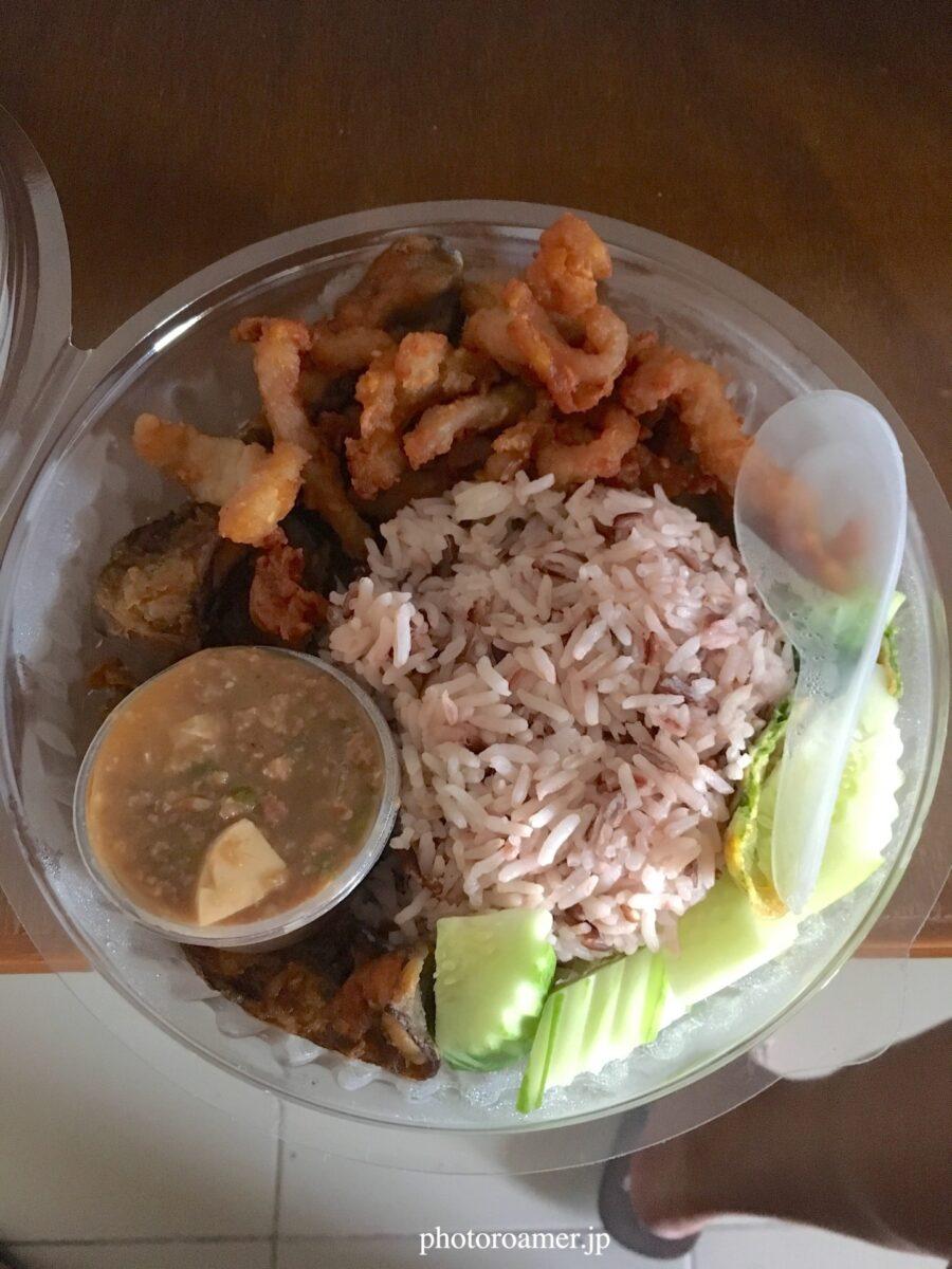 タイ チェンマイ 夕食 弁当