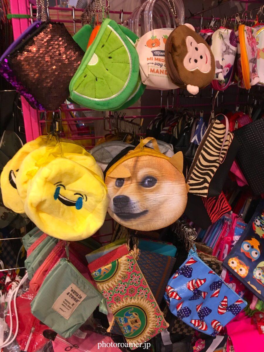タイ チェンマイ 柴犬バッグ