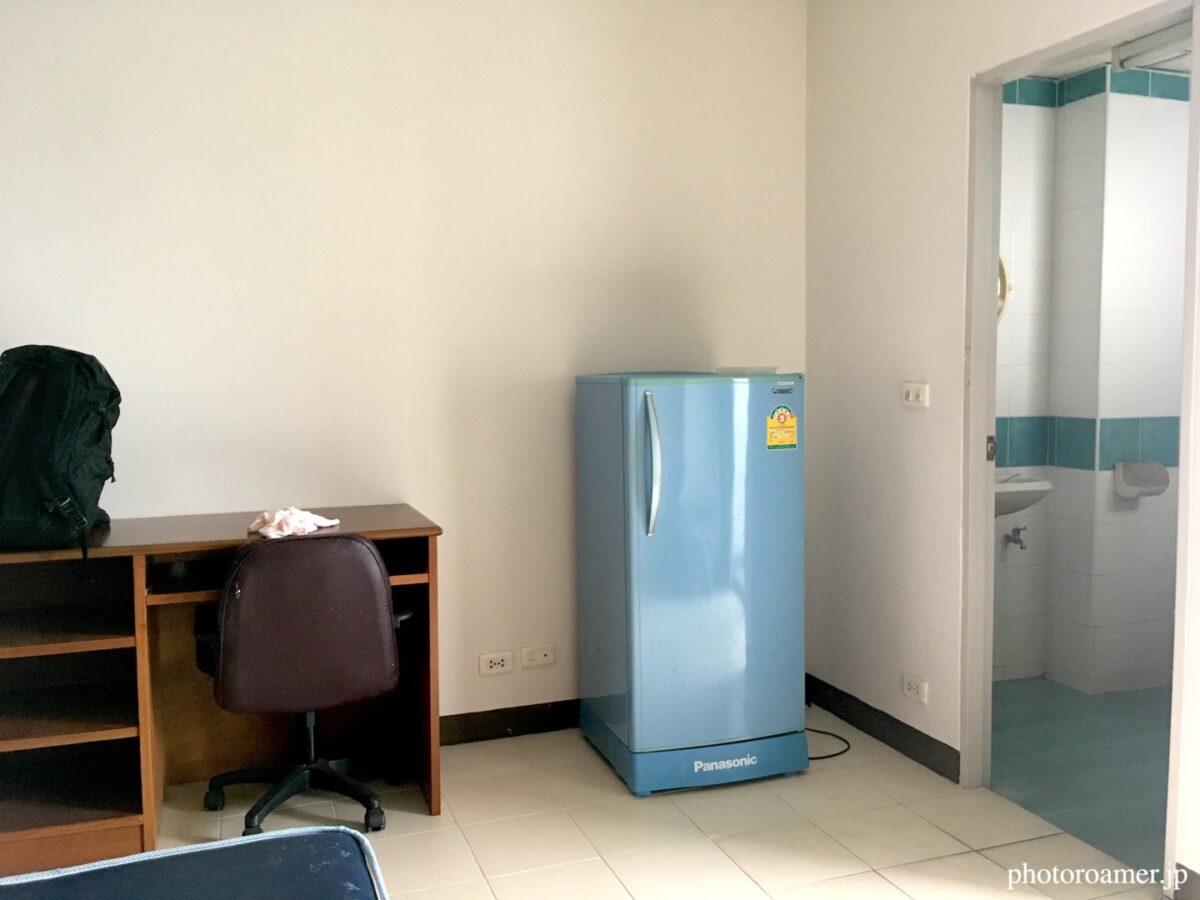 タイ チェンマイ アパート 室内 冷蔵庫