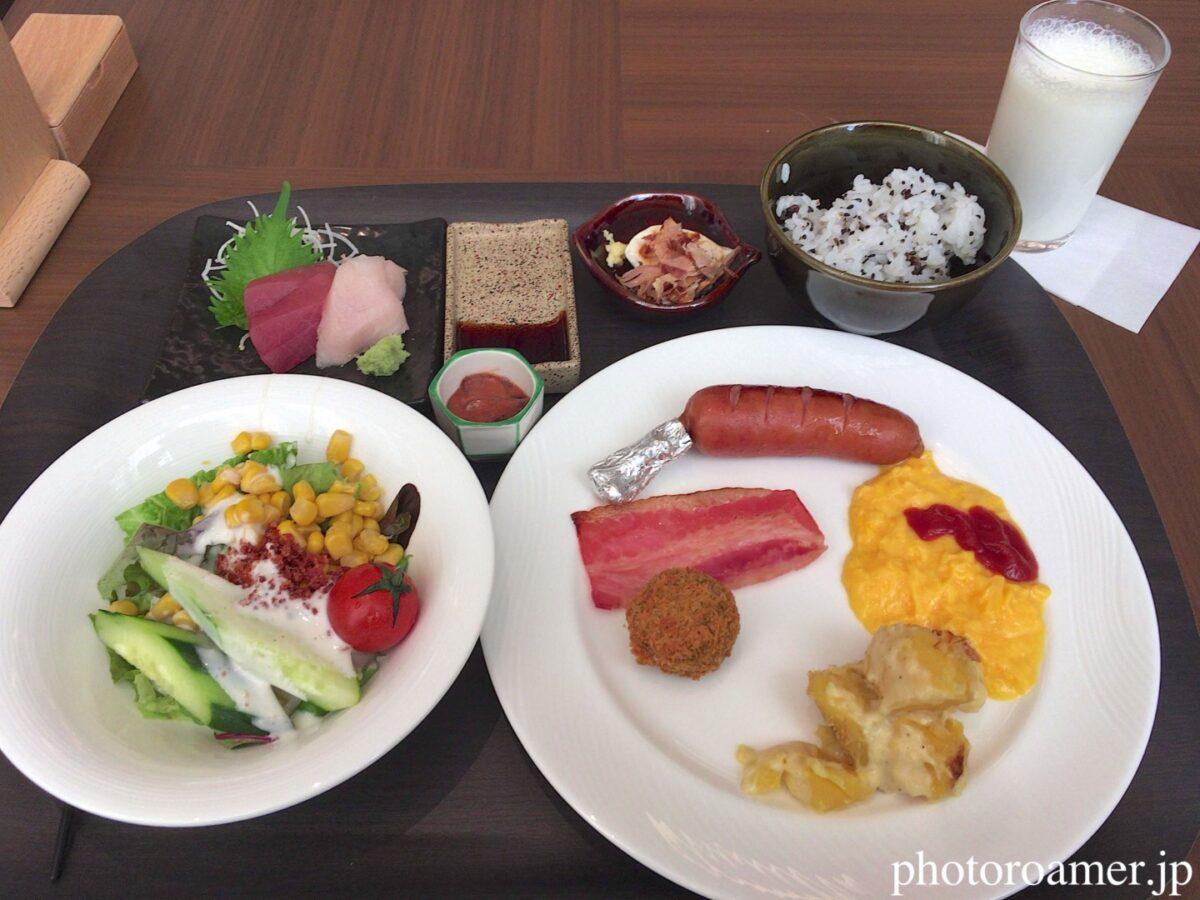 ホテルJALシティ中島公園 朝食 Cafe Contrail(カフェ コントレイル) 料理 選択