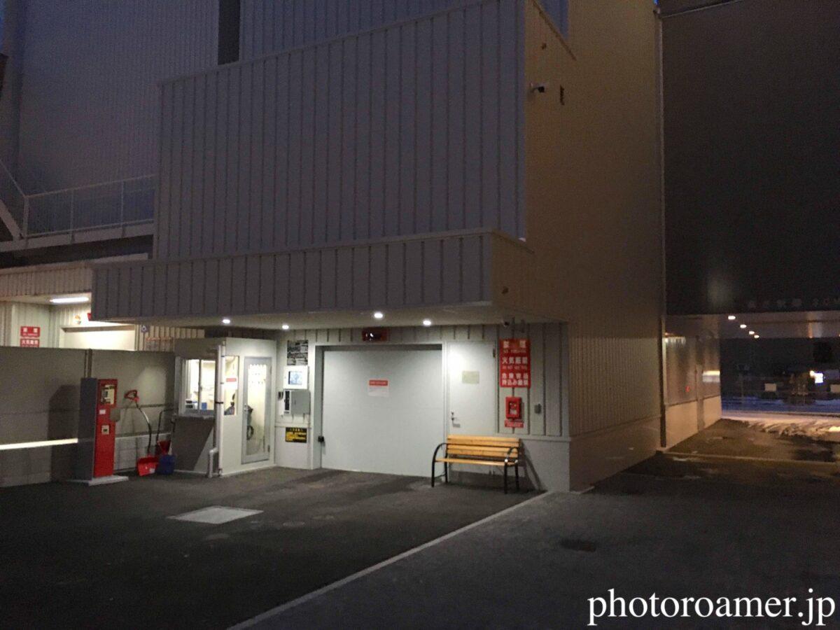 ホテルJALシティ札幌中島公園 駐車場