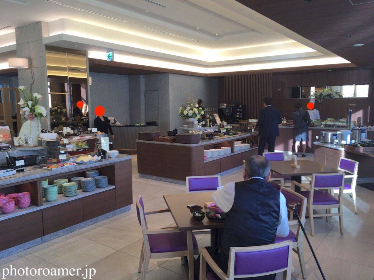 ホテルJALシティ中島公園 朝食 Cafe Contrail(カフェ コントレイル) 全景