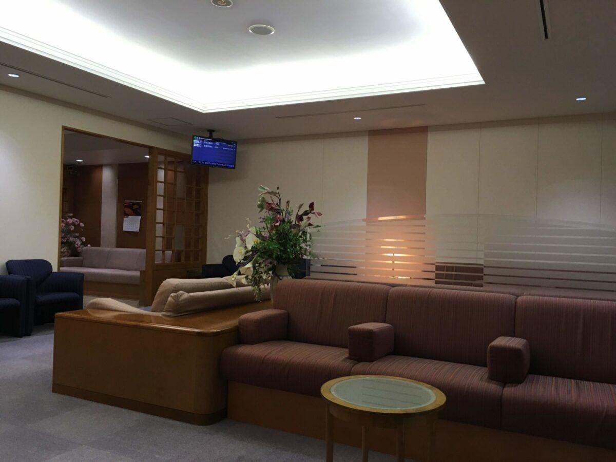 帯広空港プレミアムラウンジ リラックススペース1