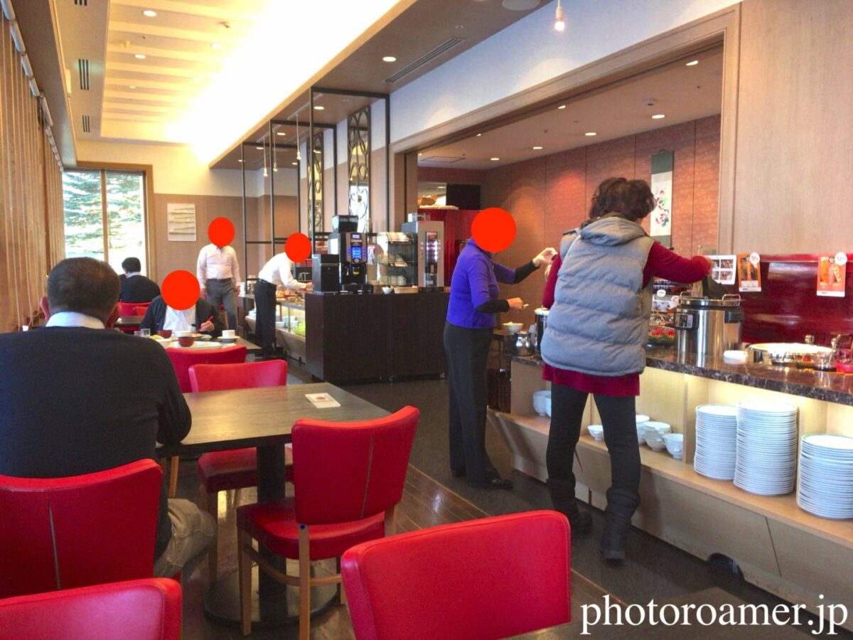 ホテル日航ノースランド帯広 レストランJ 朝食 ビュッフェ