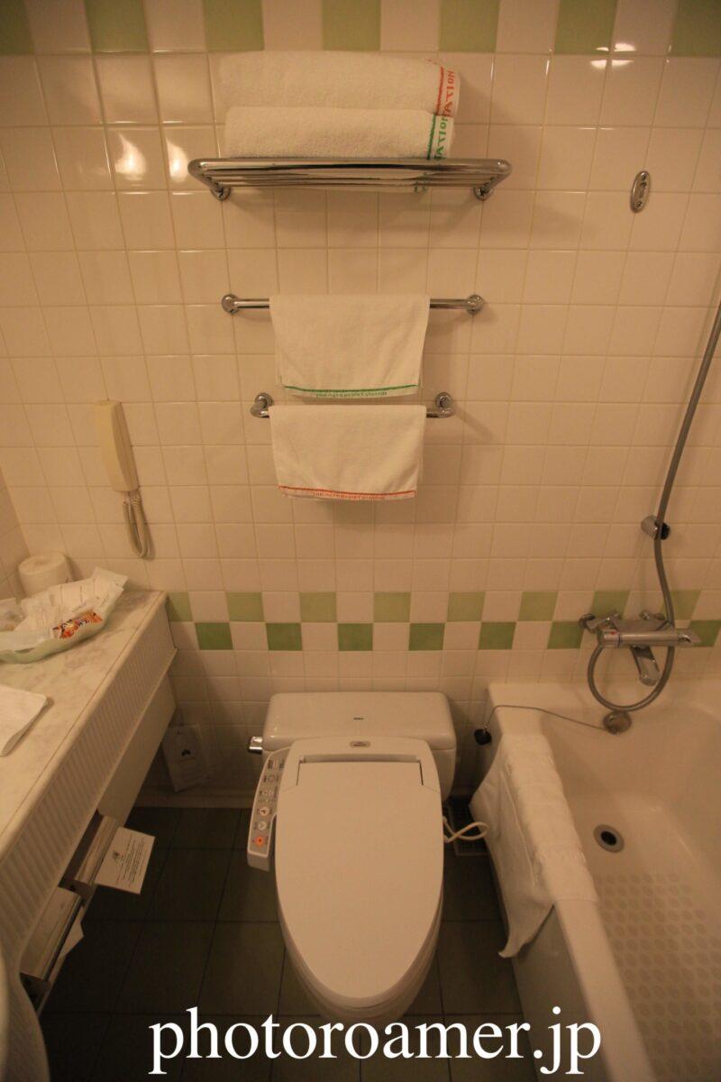ホテル日航ノースランド帯広 お風呂 トイレ