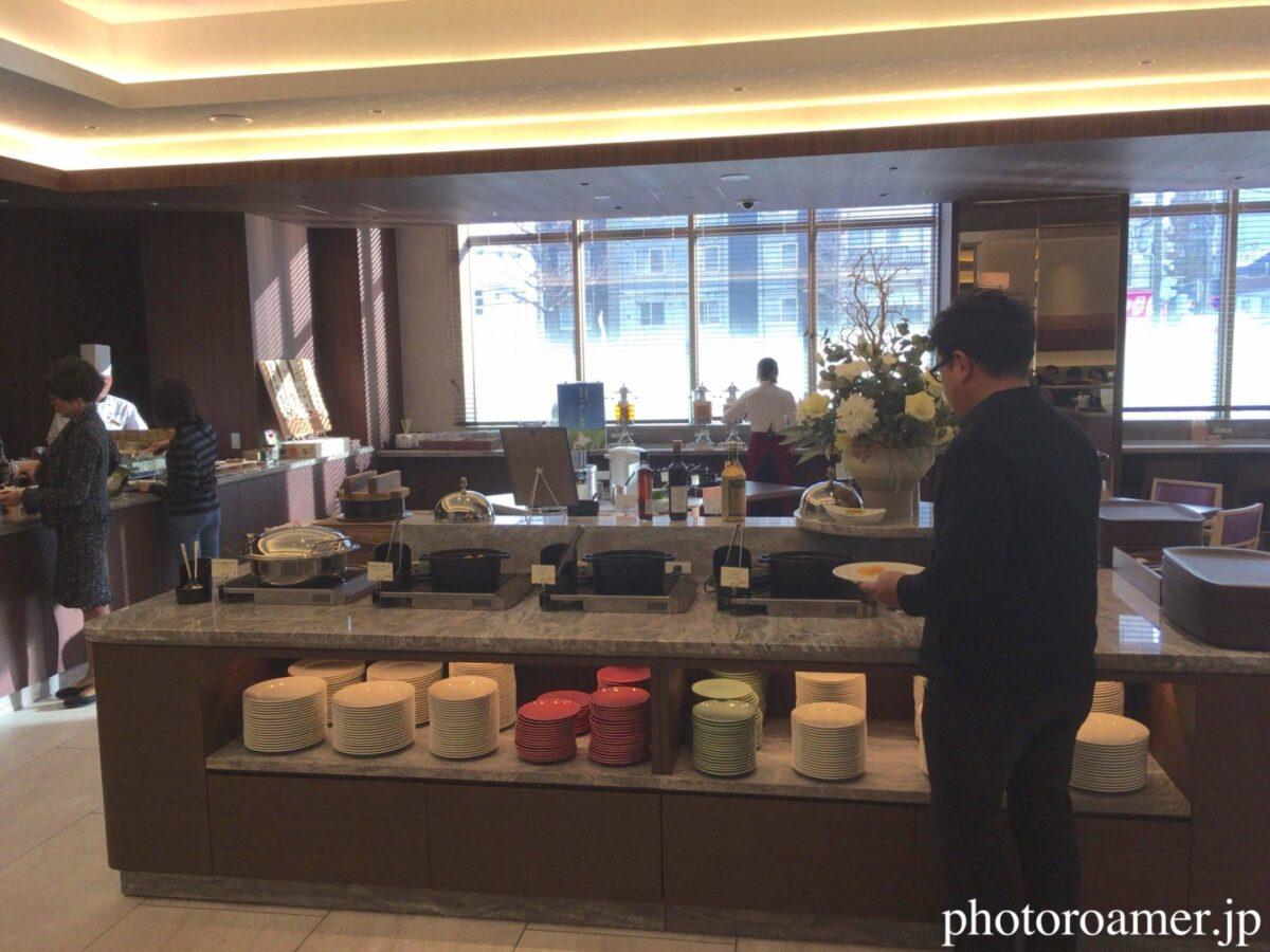 ホテルJALシティ中島公園 朝食 Cafe Contrail(カフェ コントレイル) 料理