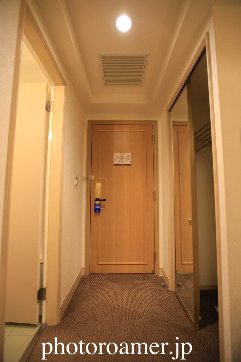 ホテル日航ノースランド帯広 入り口