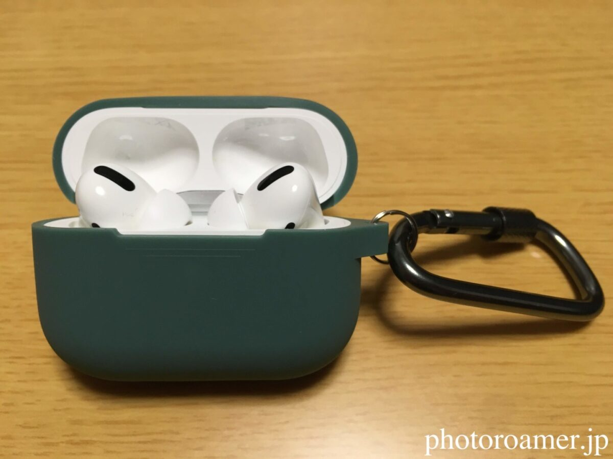 AirPods Pro ケース 正面 蓋開け