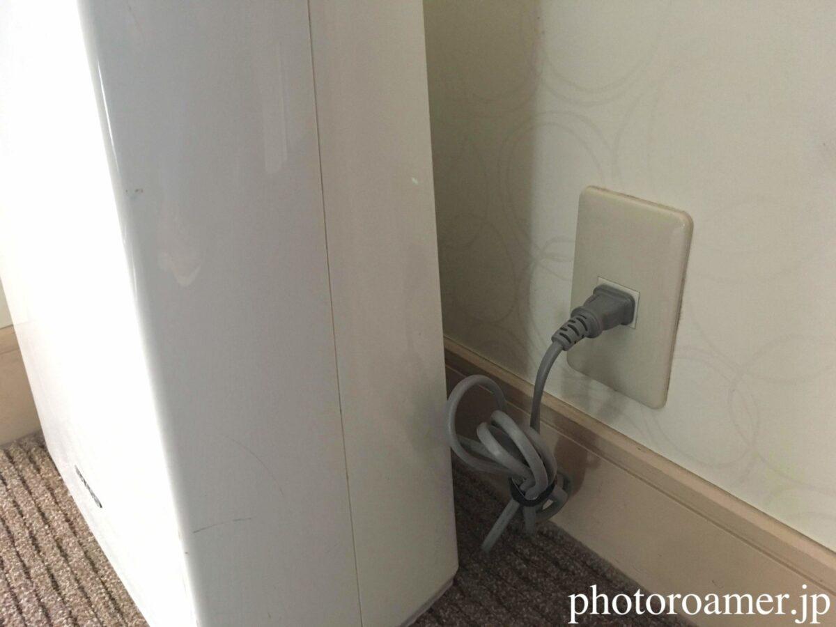 ホテル日航ノースランド帯広 充電場所 空気清浄器