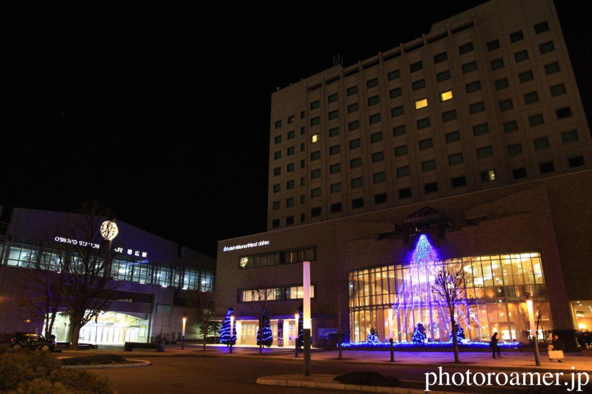 ホテル日航ノースランド帯広 イルミネーション