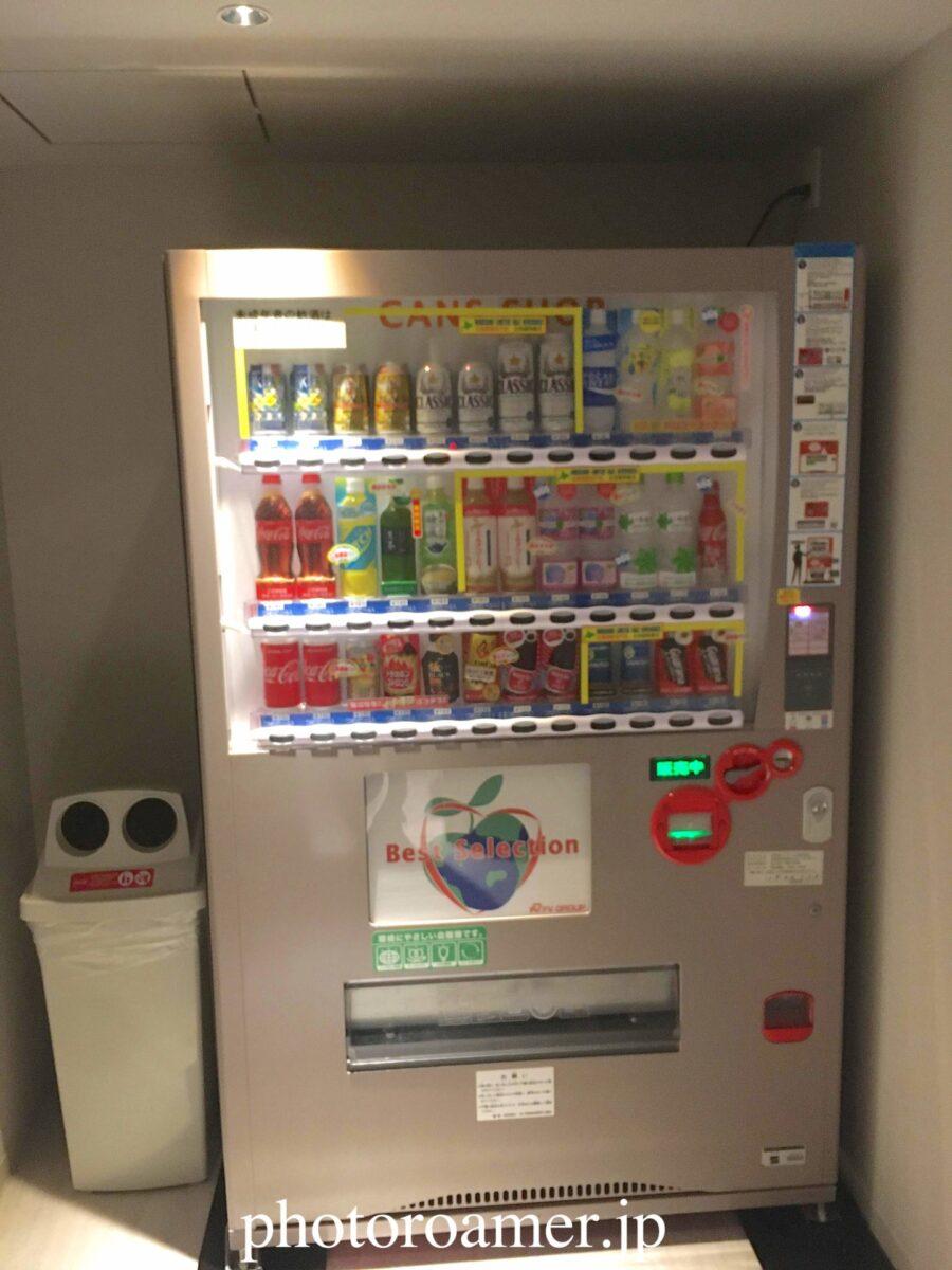 ホテルJALシティ中島公園 自動販売機