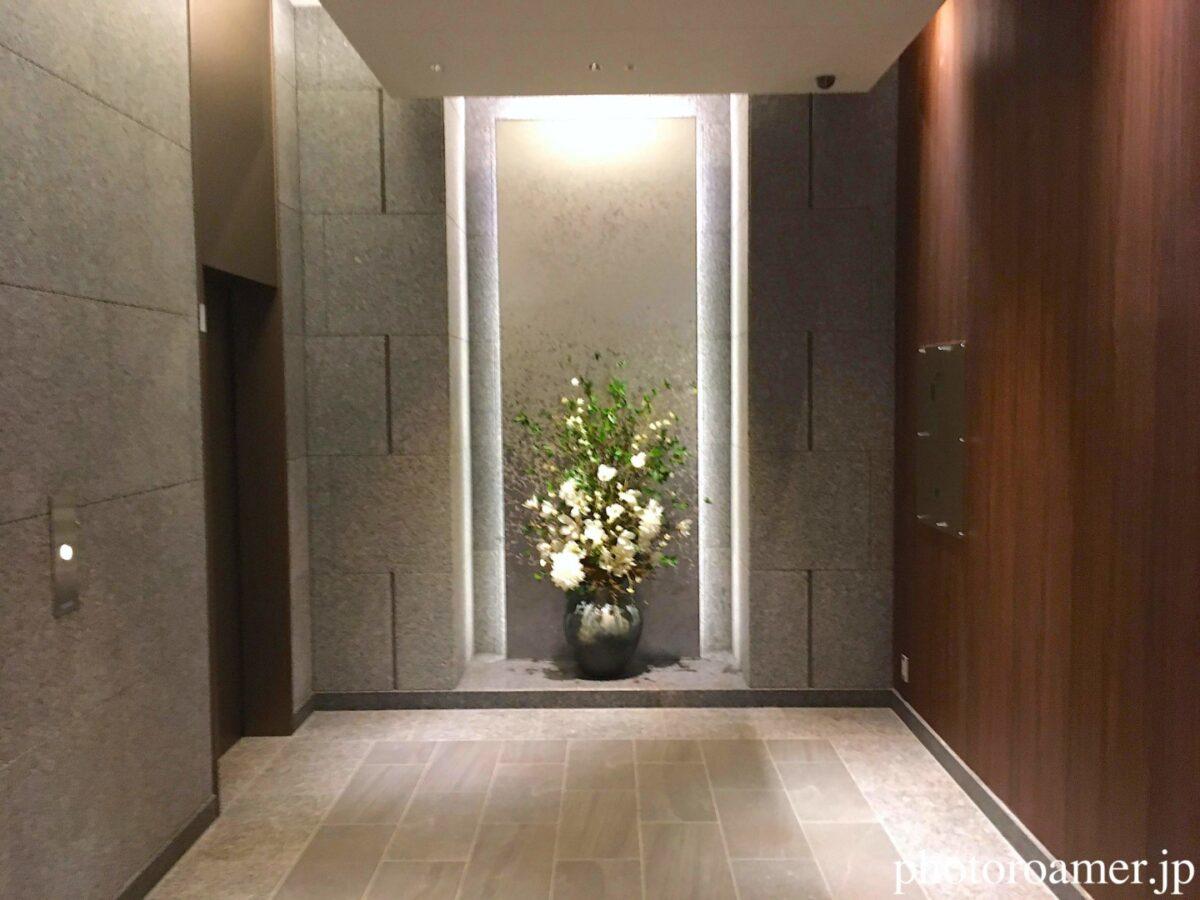 ホテルJALシティ中島公園 エレベーター 1階 花