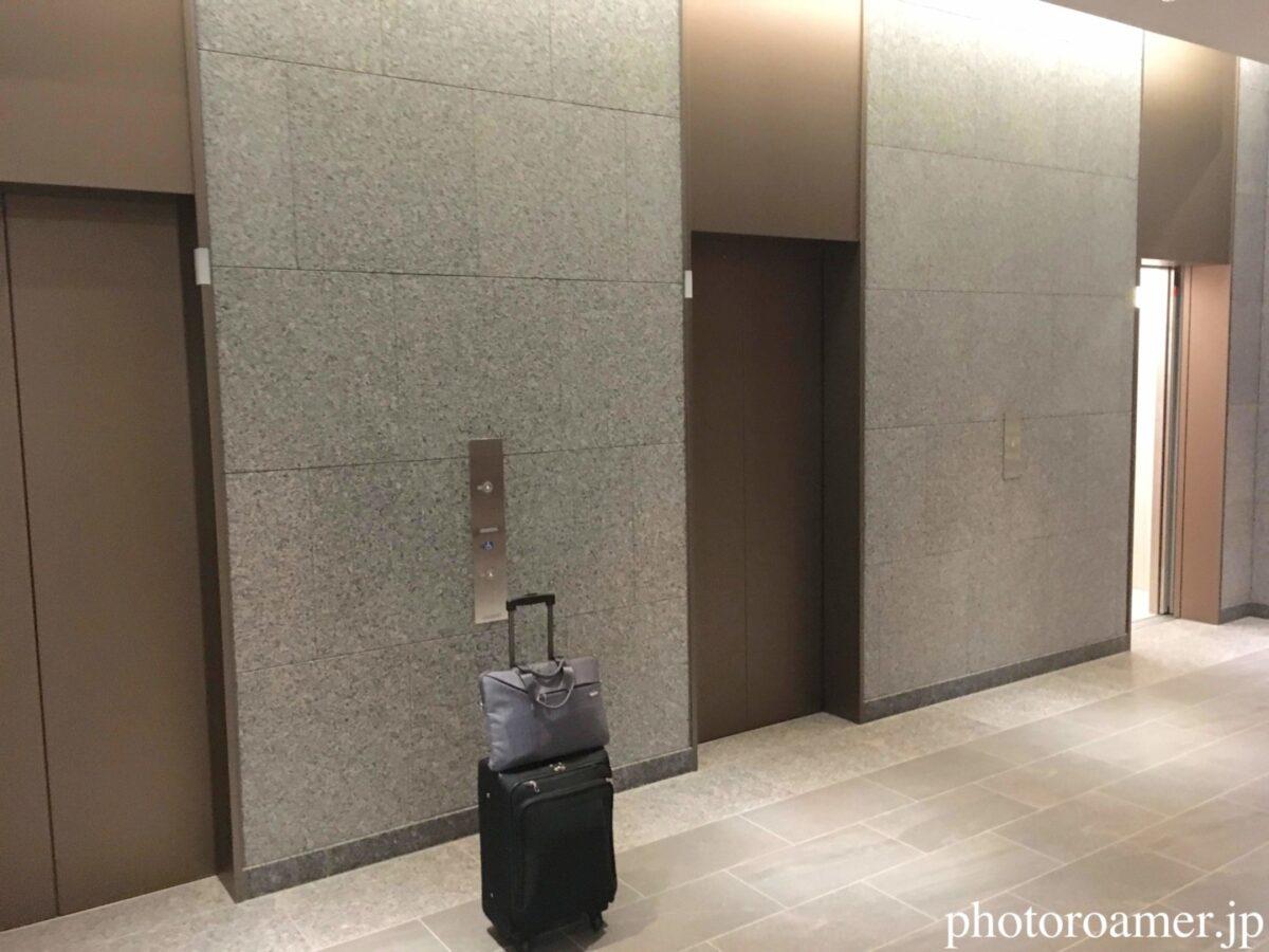 ホテルJALシティ中島公園 エレベーター 1階