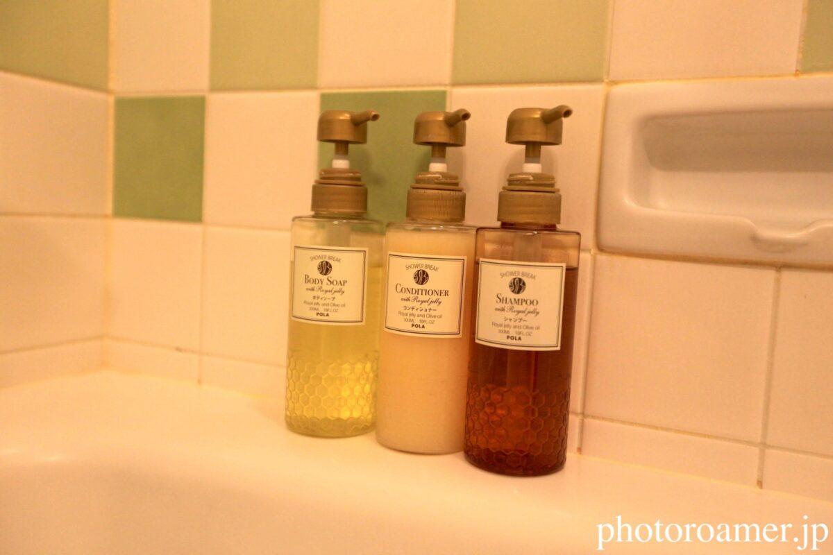 ホテル日航ノースランド帯広 お風呂 シャンプー