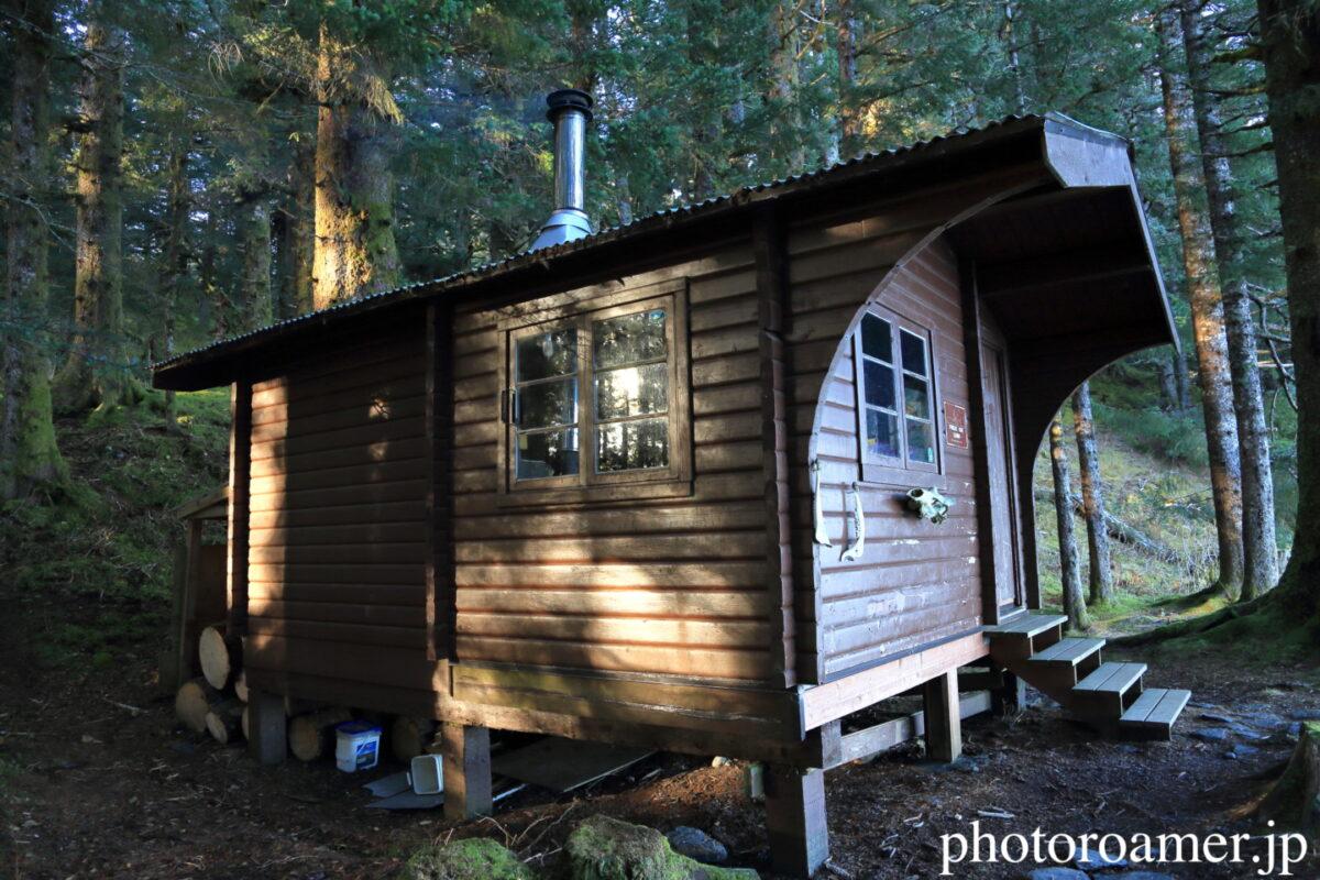 アラスカ キャンプ キャビン