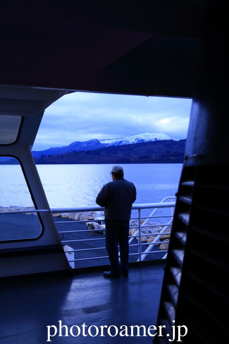 アラスカ フェリー 乗客