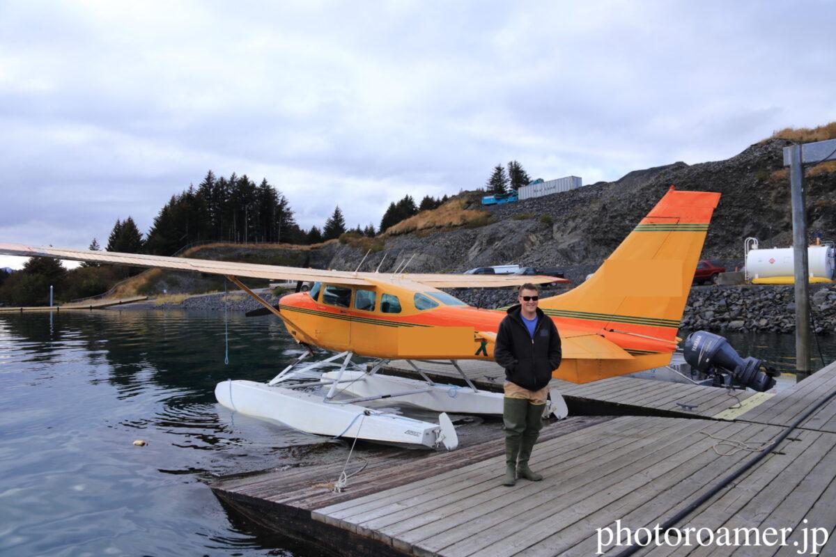 アラスカ セスナ パイロット