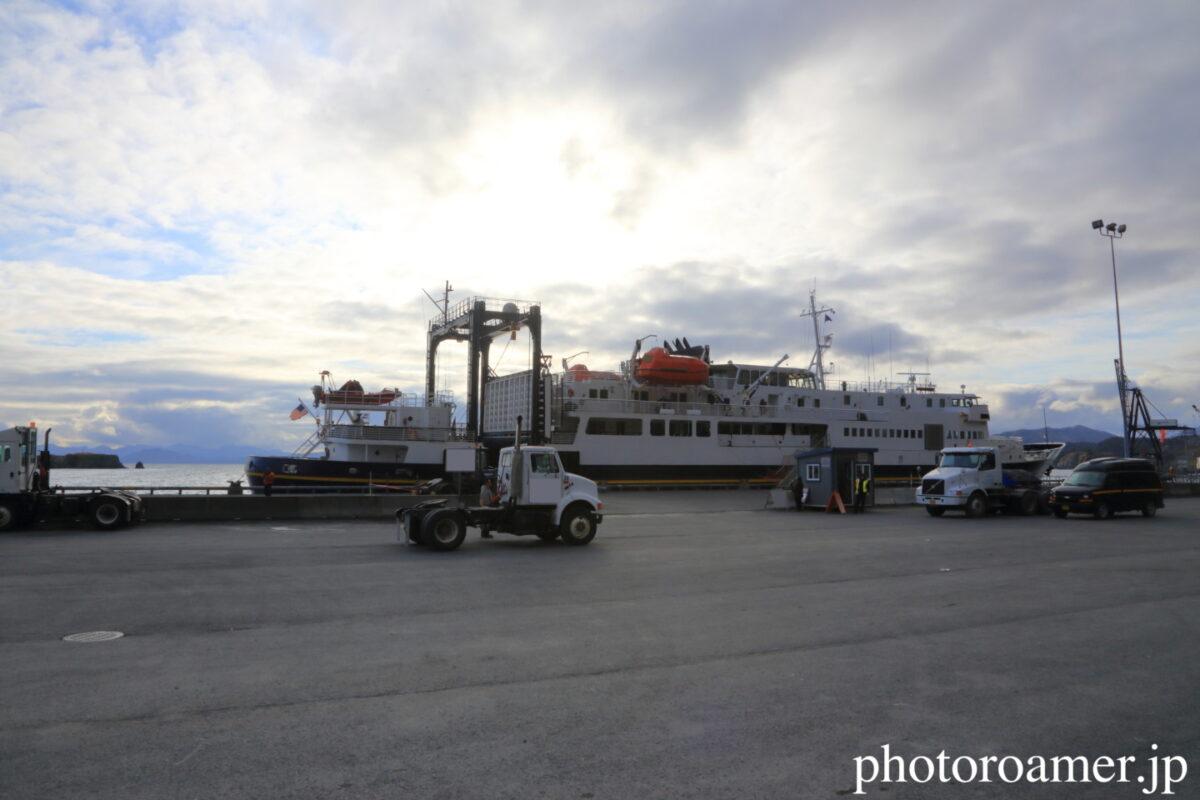 アラスカ 島 フェリー 帰還