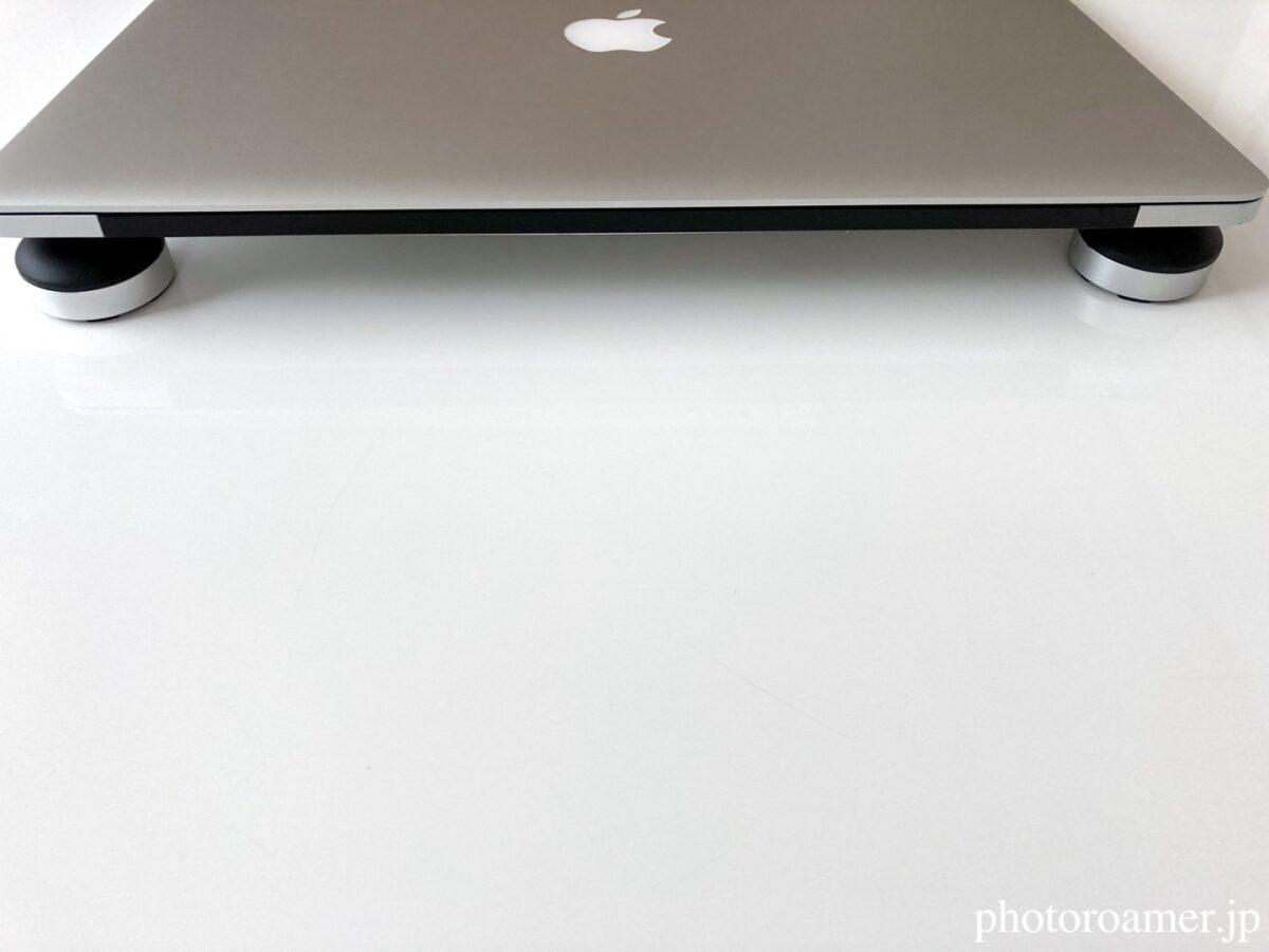 ノートパソコンスタンド JOBSON 設置方法 正面