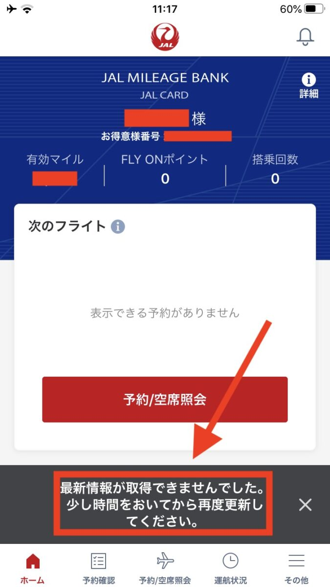 JAL 国内線 WiFi 接続できない アプリ 開けず