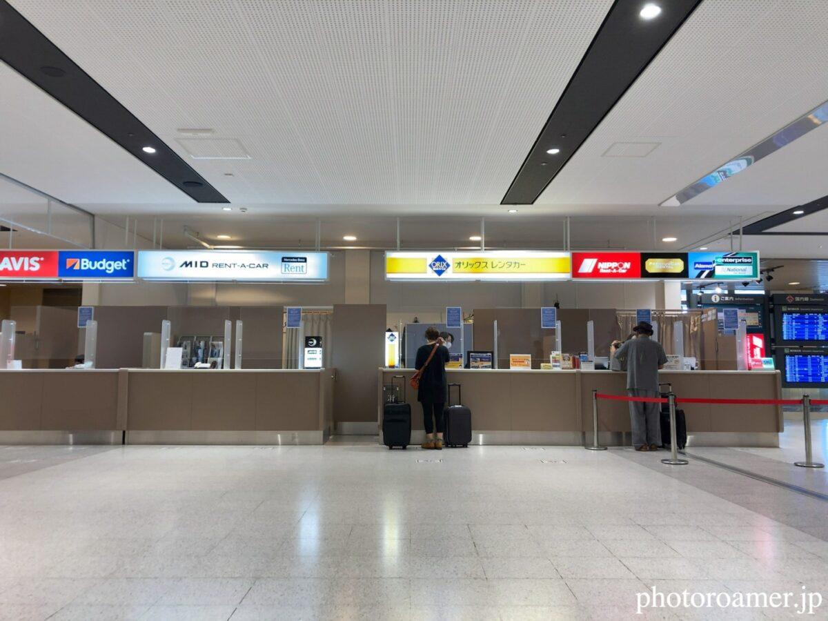 北海道旅行 新千歳空港 オリックスレンタカー