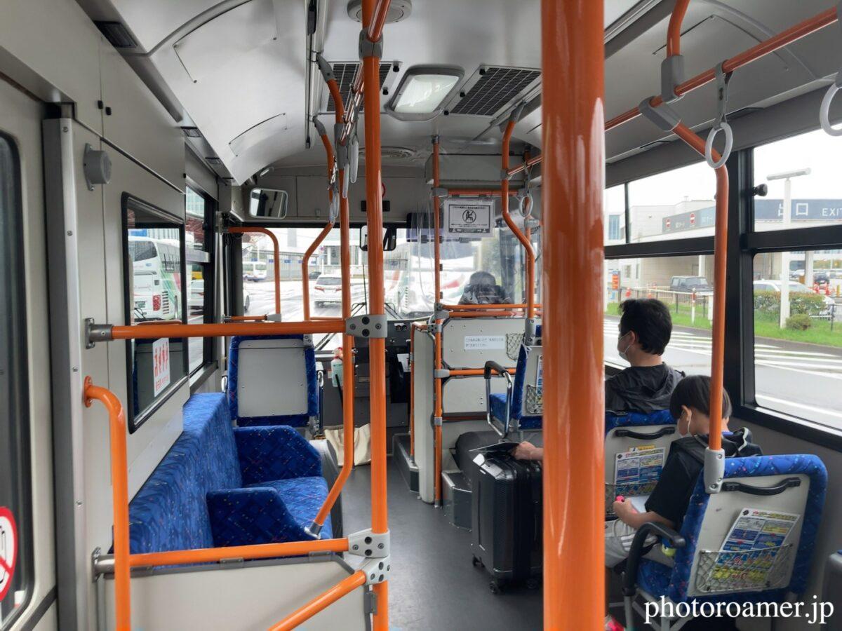 北海道旅行 新千歳空港 オリックスレンタカー バス移動