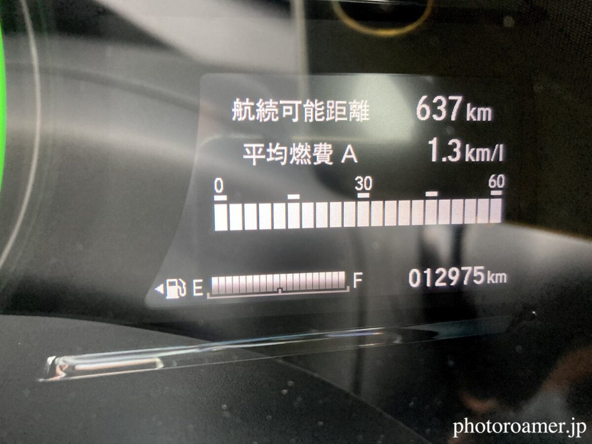 レンタカー 出発時距離