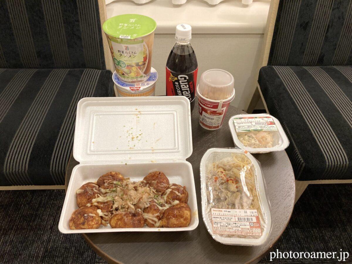 北海道旅行 1日目 夕食