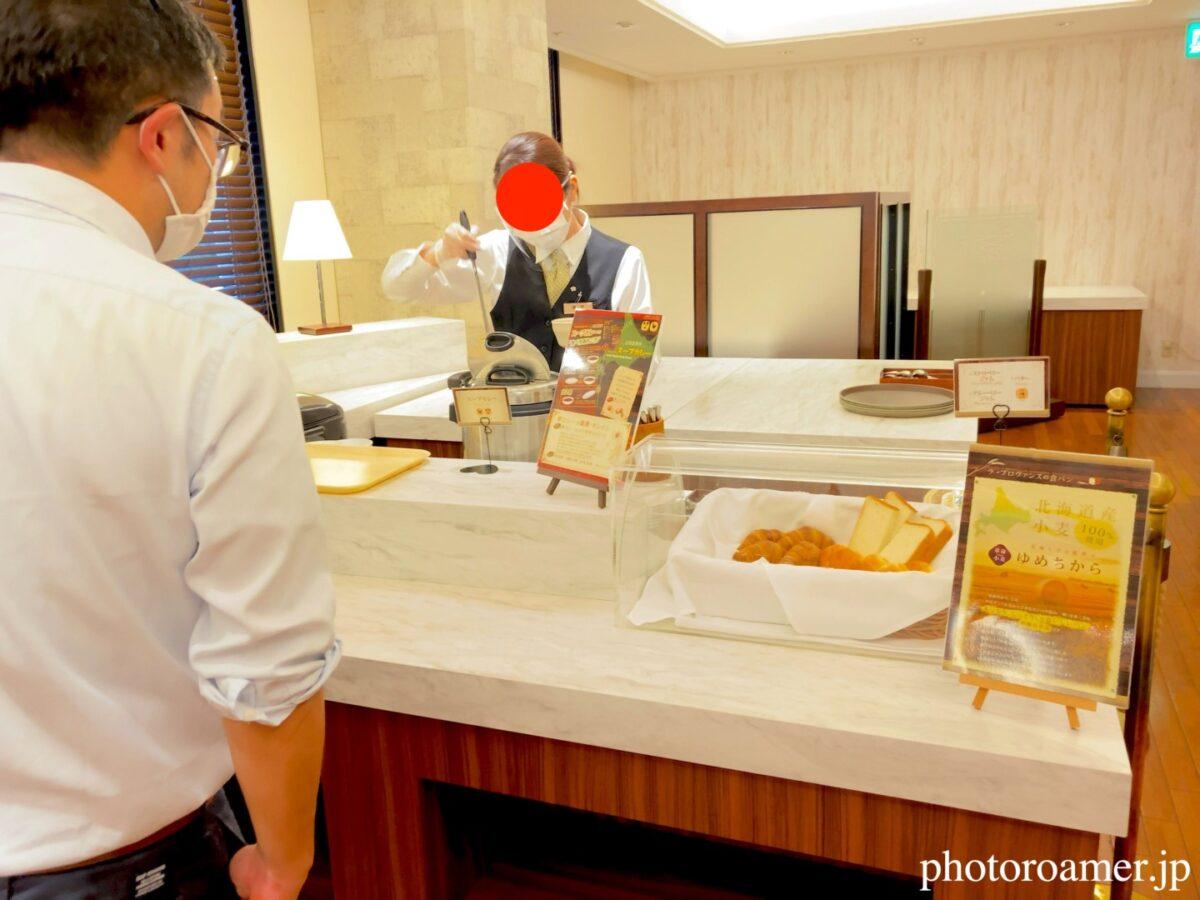 プレミアホテル札幌中島公園 朝食 バイキング形式