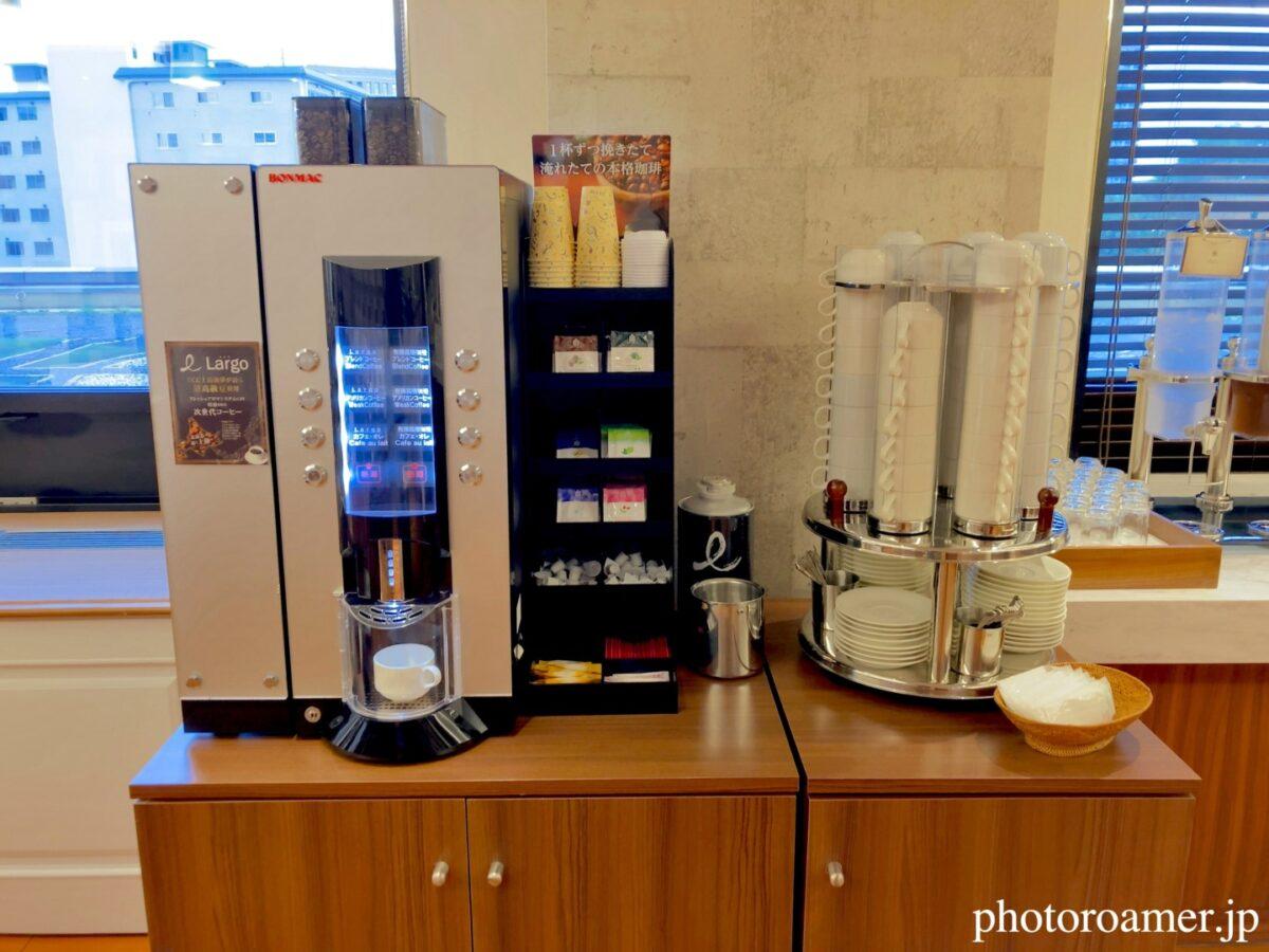 プレミアホテル札幌中島公園 朝食 コーヒーサーバー