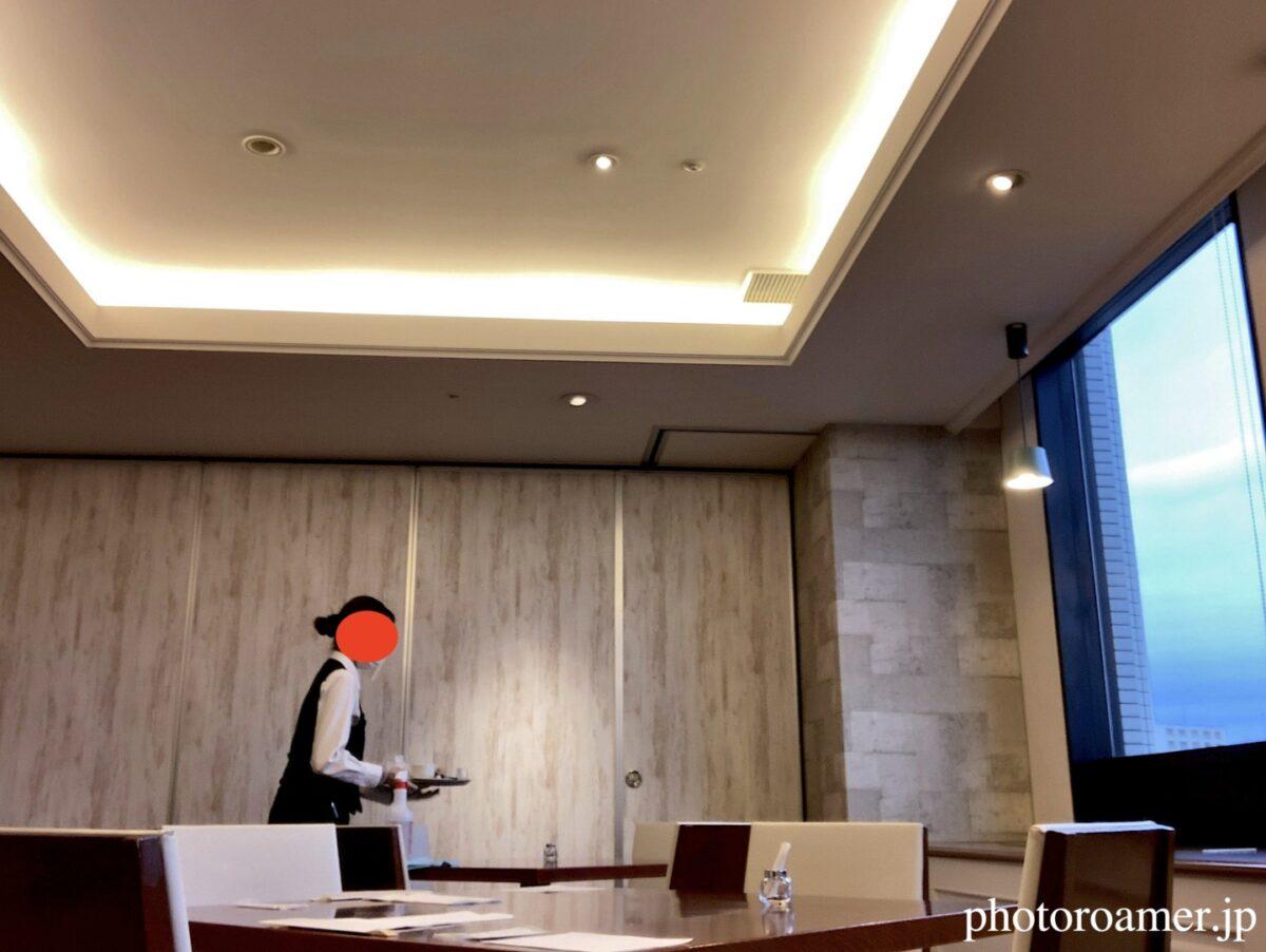 プレミアホテル中島公園札幌 朝食会場 除菌