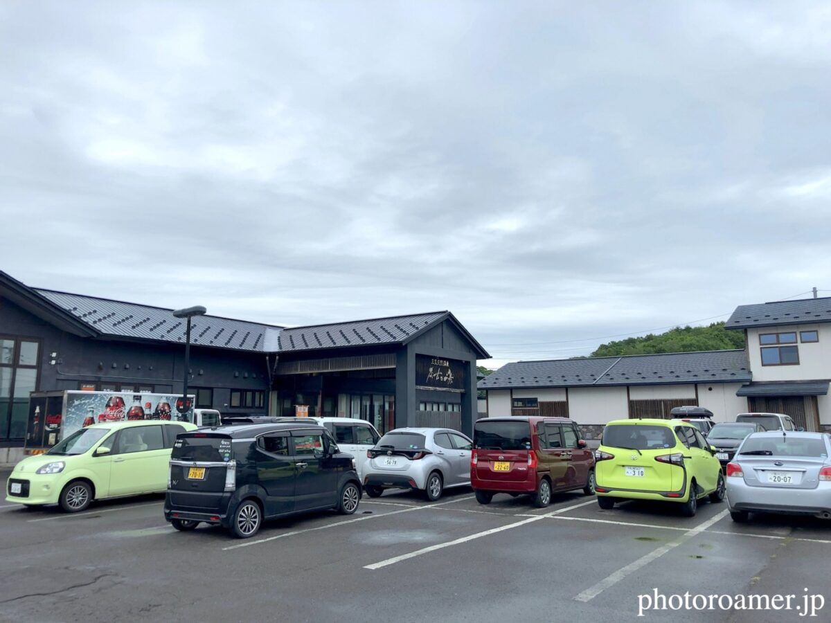 道の駅三笠 三笠天然温泉 太古の湯 駐車場