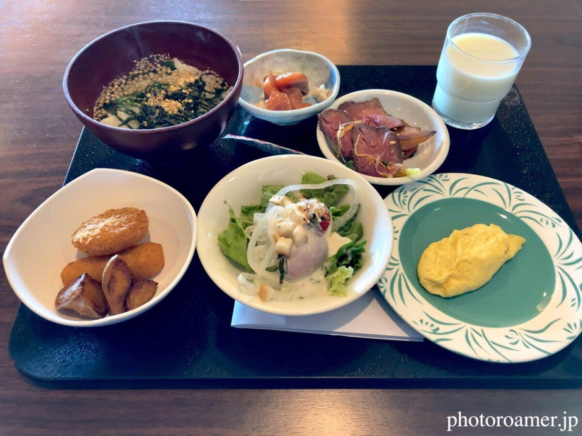 北こぶし知床 ホテル&リゾート 朝食 メニュー
