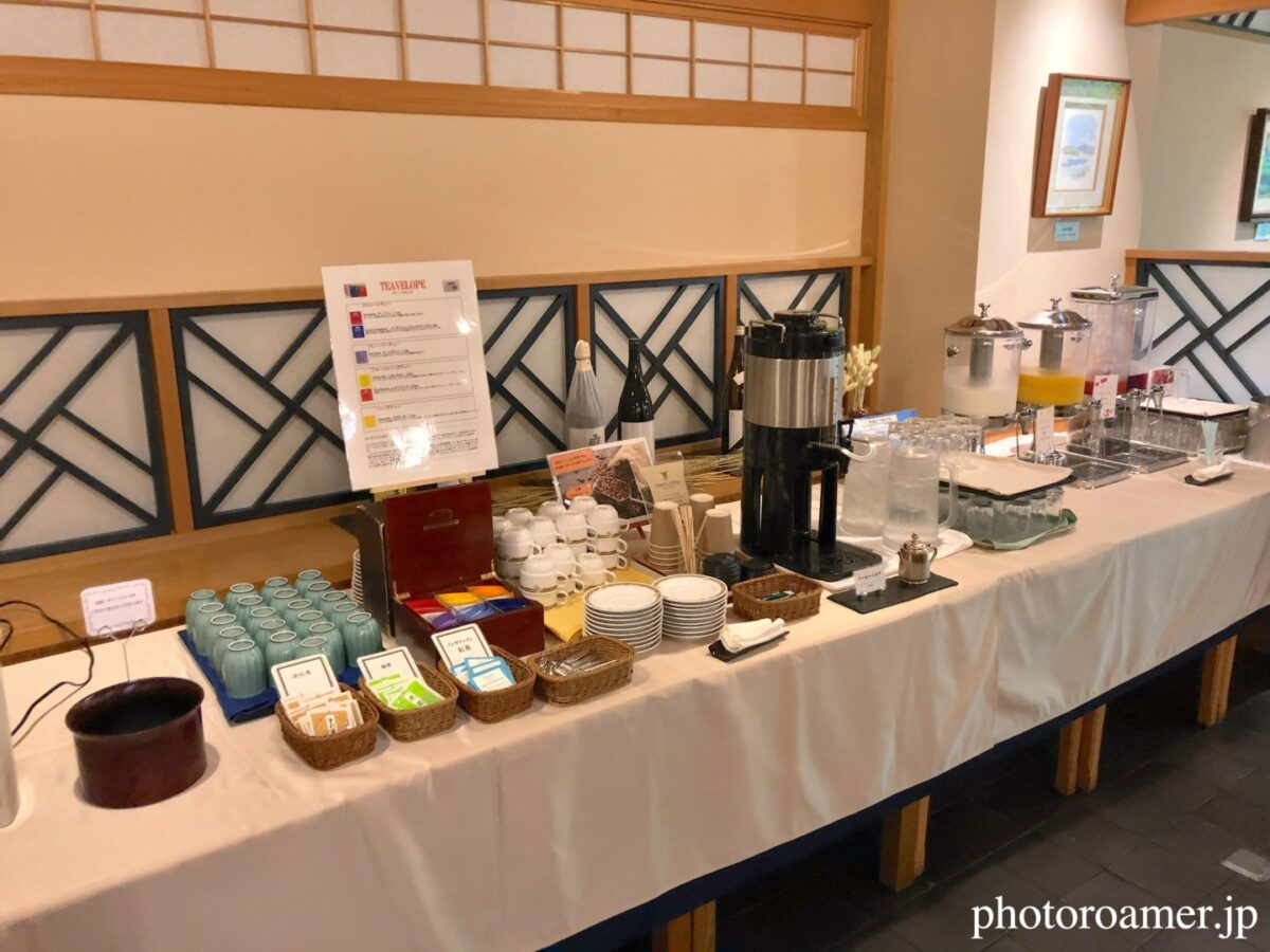 北海道ホテル帯広 朝食 ドリンクバー