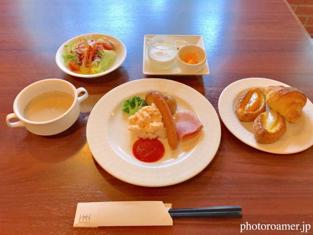 北海道ホテル帯広 朝食メニュー 洋食