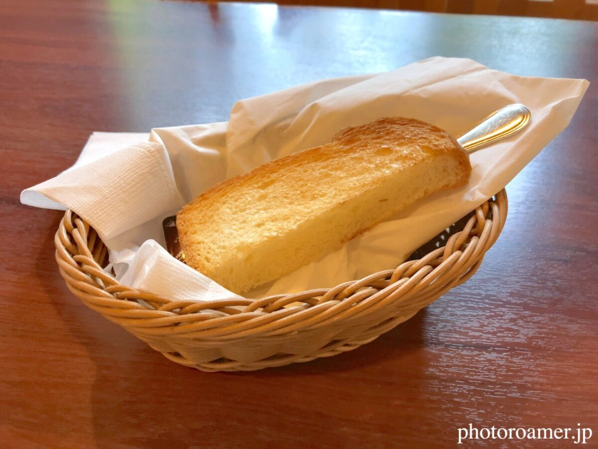 北海道ホテル帯広 朝食メニュー トースト