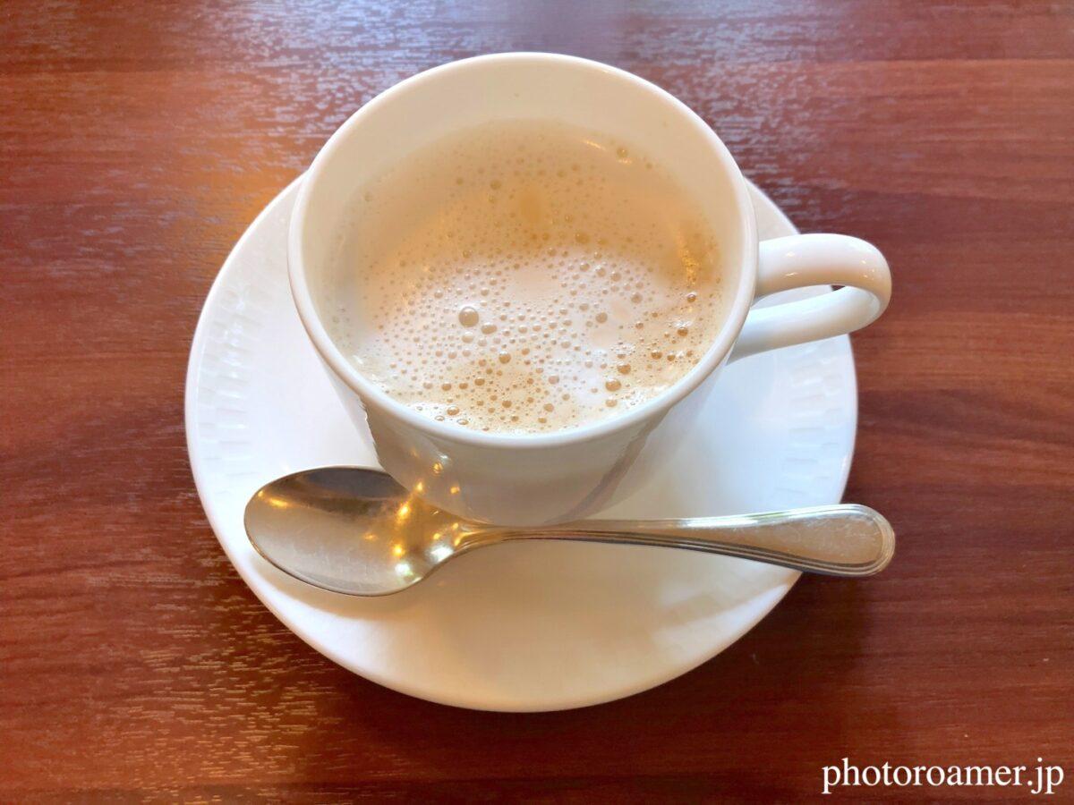 北海道ホテル帯広 朝食 十勝ホワイトコーヒ ホット