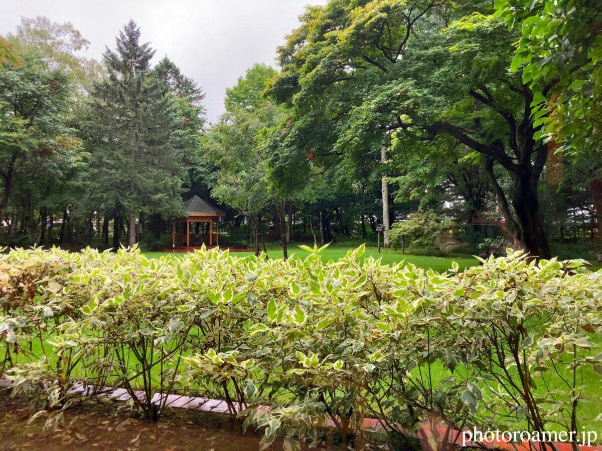 北海道ホテル帯広 朝食会場 和食六郎 個室 景色