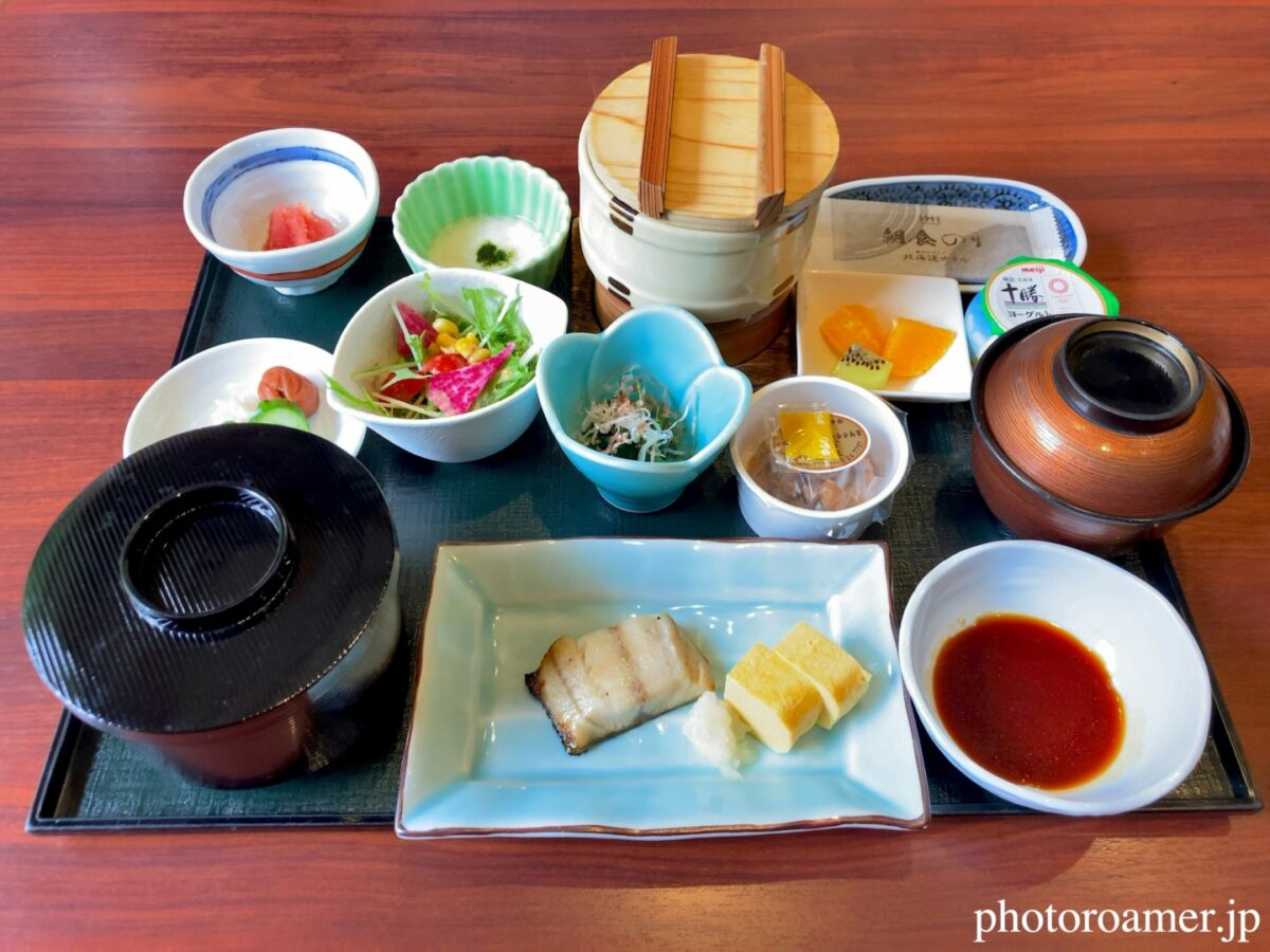 北海道ホテル帯広 朝食 和食