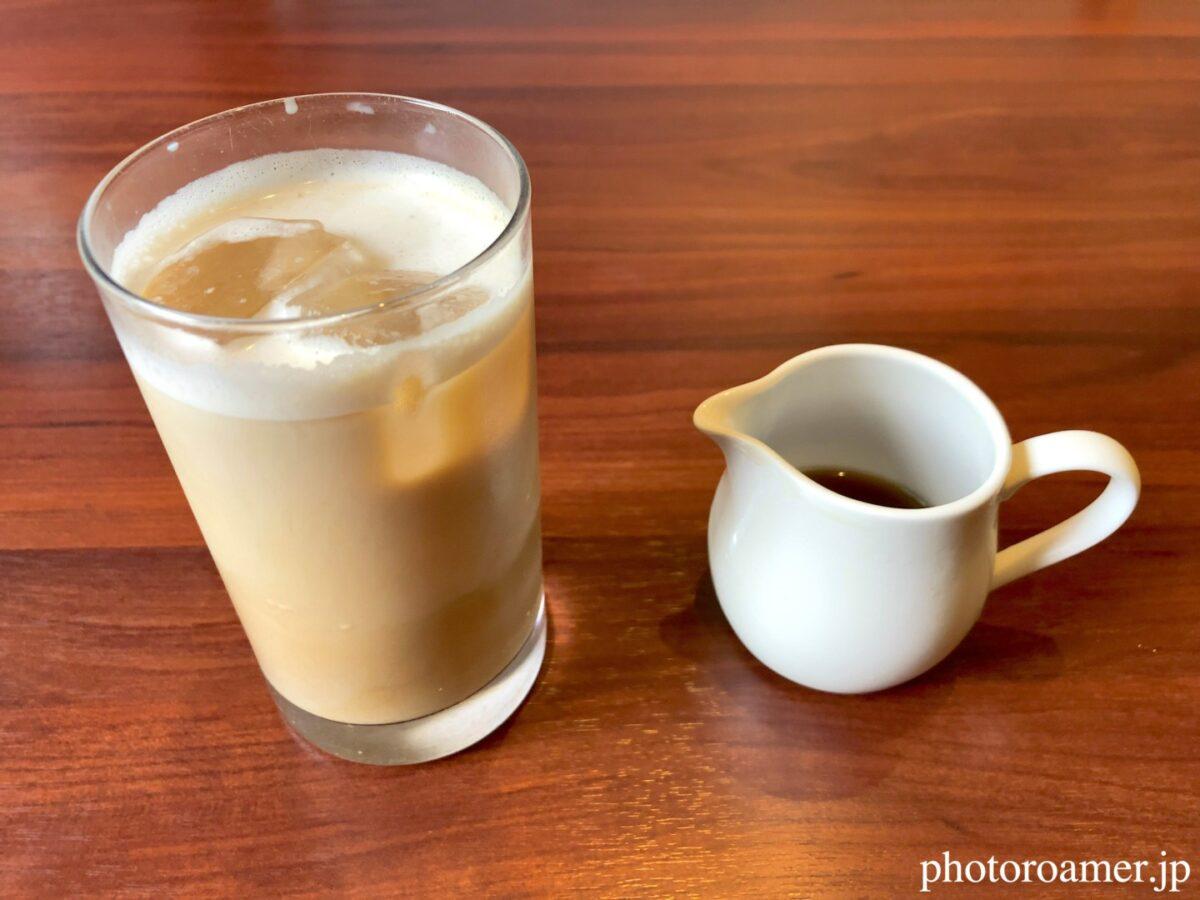 北海道ホテル帯広 朝食 十勝ホワイトコーヒー アイス
