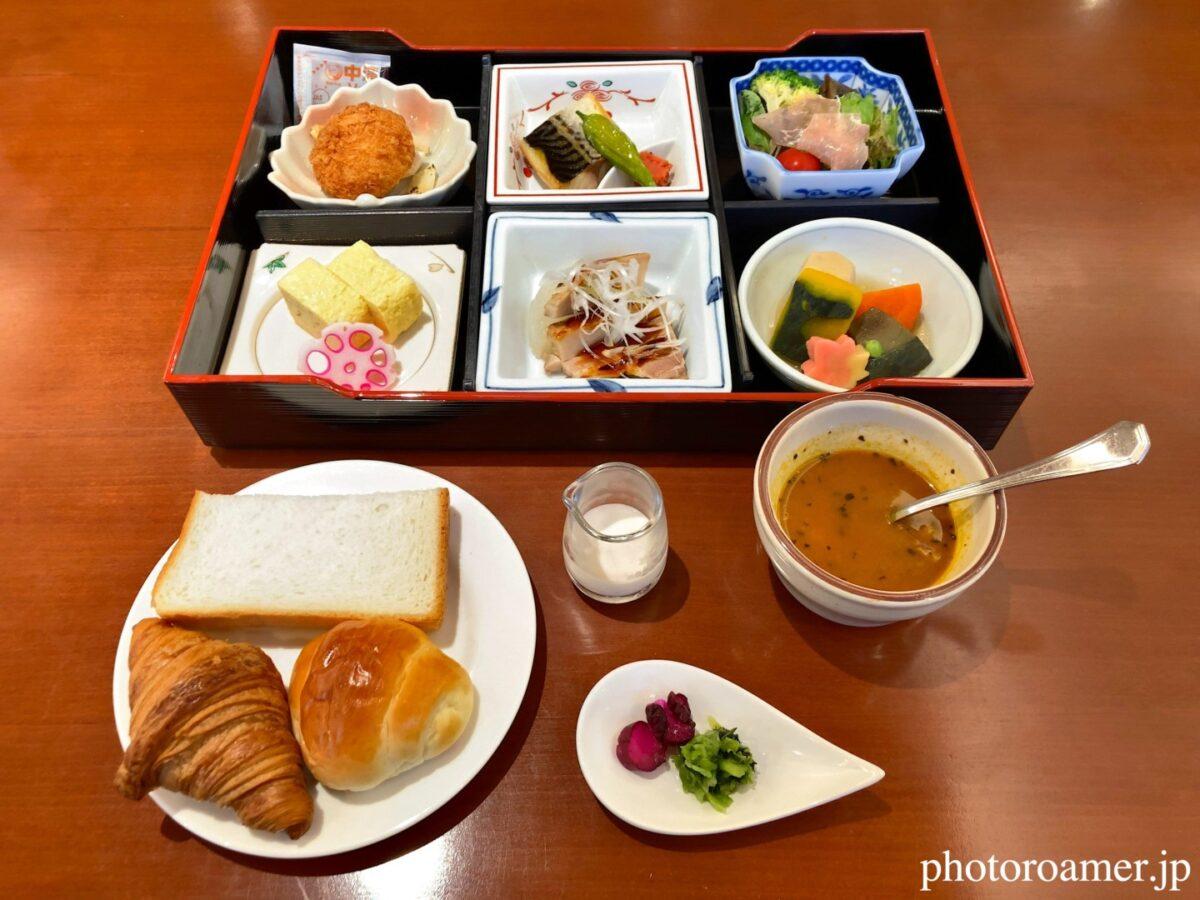 プレミアホテル中島公園札幌 朝食メニュー