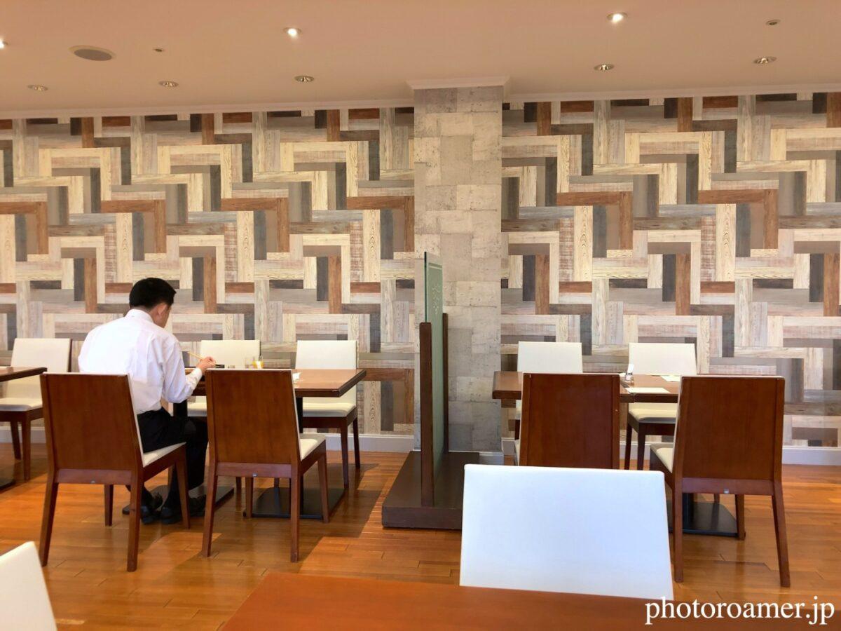 プレミアホテル中島公園札幌 朝食会場 コロナ対策