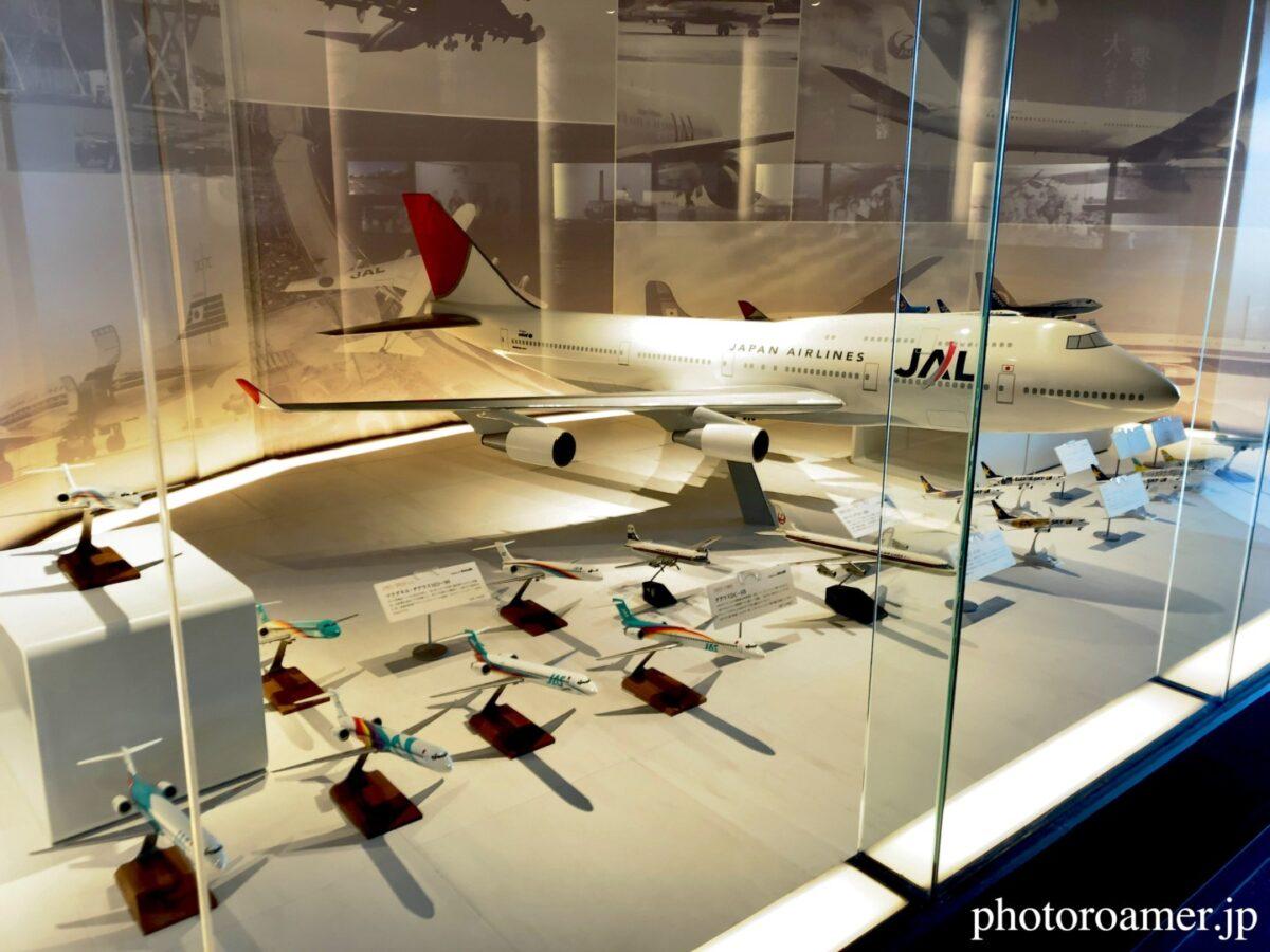 エアポートヒストリーミュージアム 飛行機模型