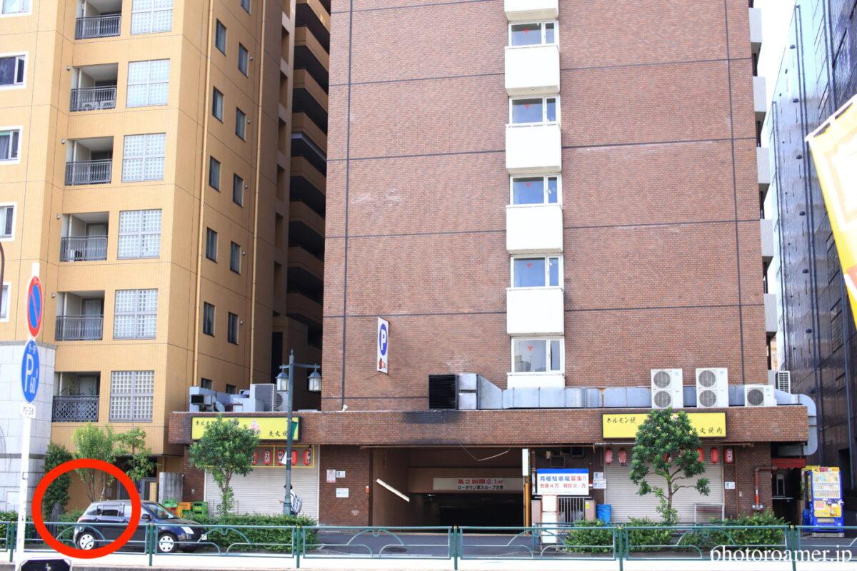 東京 島崎藤村旧居跡 ノア新宿ビル 全体像