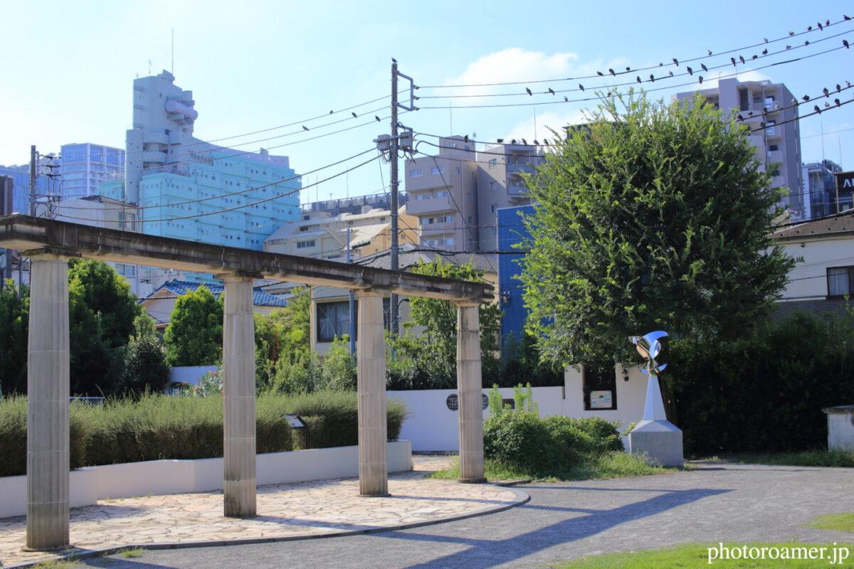 東京 小泉八雲記念公園 神殿