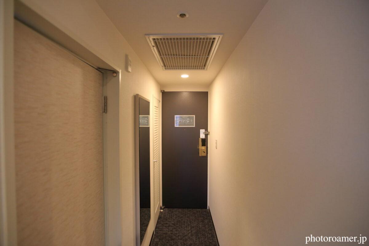 プレミアホテル中島公園札幌 部屋 入り口