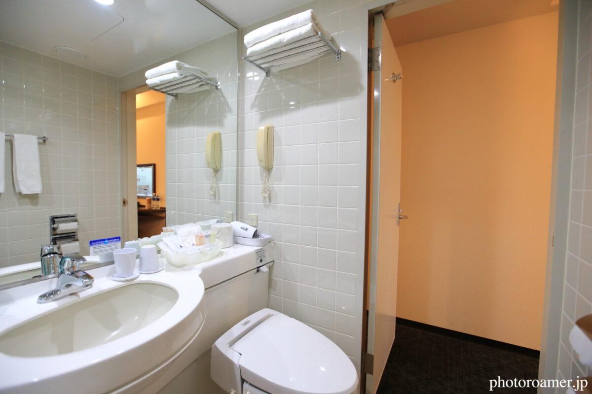 プレミアホテル中島公園札幌 部屋 お風呂